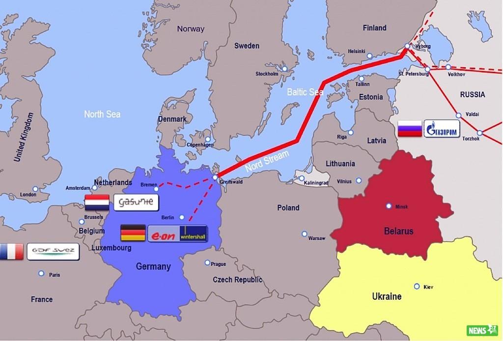 В Германии стартовала подготовка к стройке морского участка ГТМ «Северный поток-2»