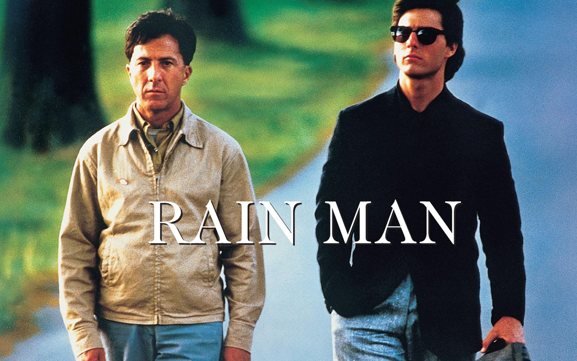 rain mans autistic traits