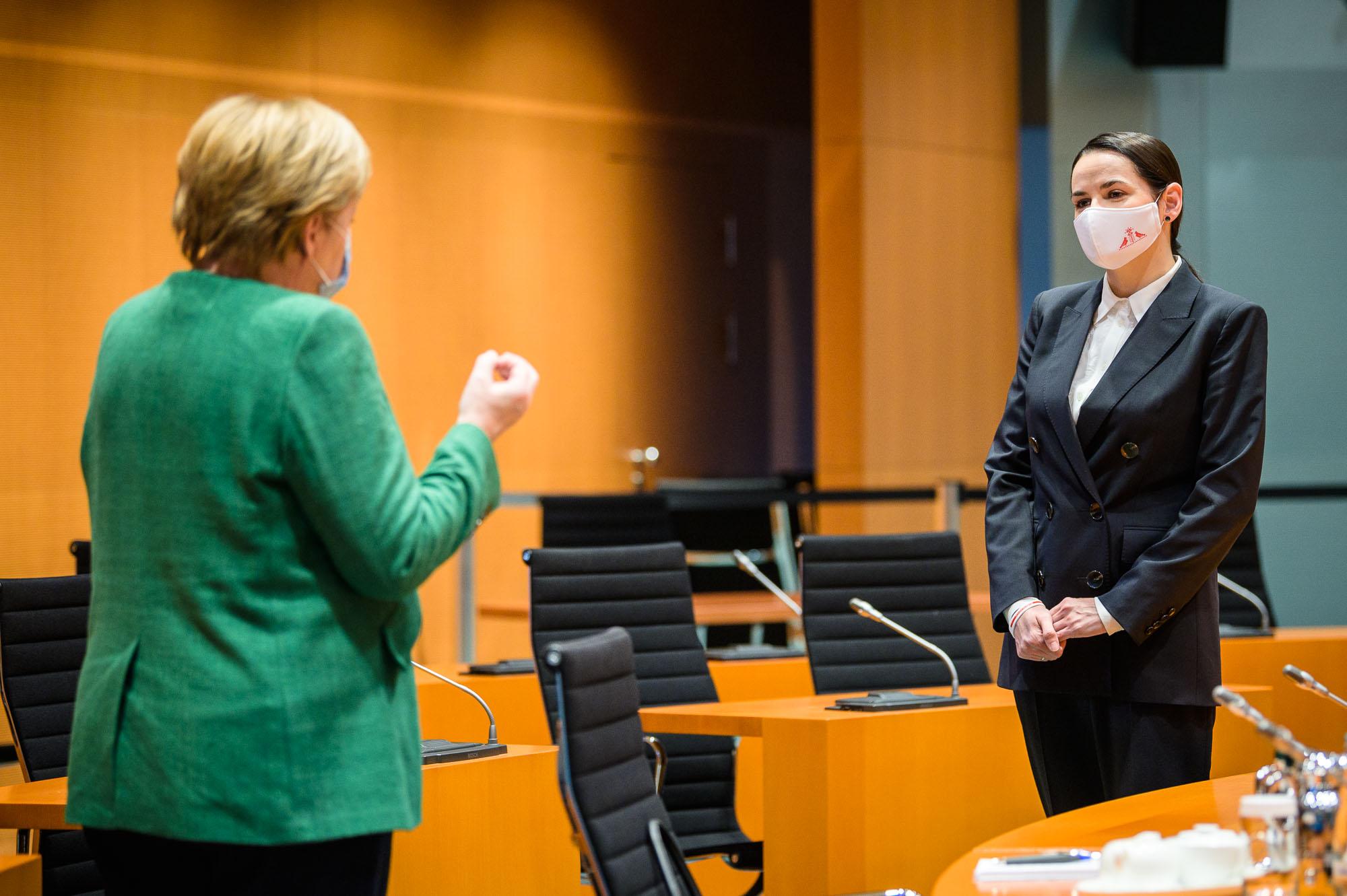 Евротур Тихановской: домохозяйка выпрашивала у Меркель деньги для «белорусской» оппозиции 2