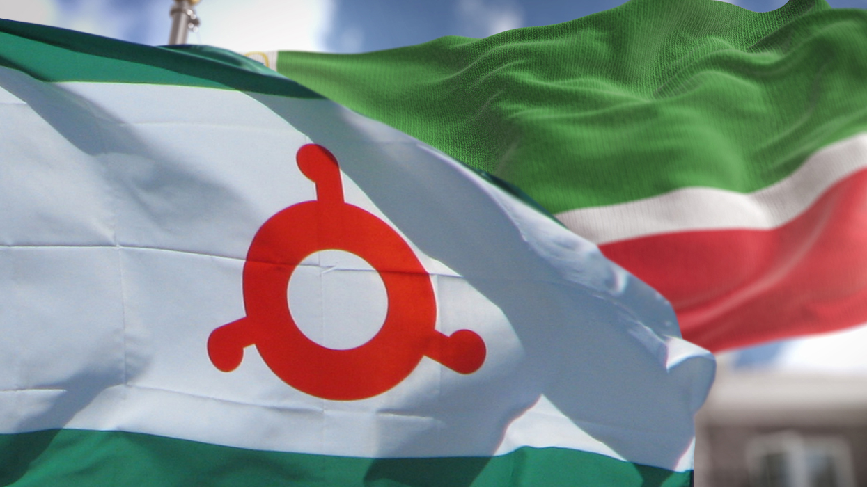 Картинки чечня ингушетия флагов