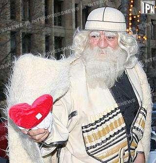 кавказский дед мороз фото деньги карту, счёт